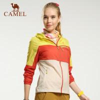 camel骆驼户外皮肤衣 春夏男女款 防风透气 日常运动皮肤风衣
