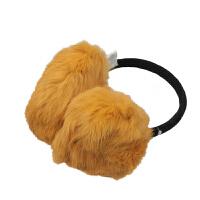 kenmont秋天 兔毛耳罩女士冬季保暖发箍耳套兔毛耳包6946