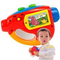 澳贝新品-迷你投影机-乐曲、投射、精彩故事投影仪463433
