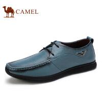 camel骆驼男鞋 舒适休闲 春季新款  系带男鞋休闲鞋