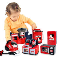 ddung/冬己 儿童过家家家电益智玩具 仿真微波炉洗衣机冰箱套装 男女孩玩具 趣味医疗箱
