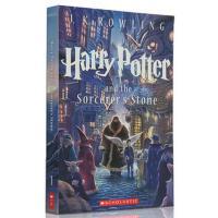 【现货】 英文原版 哈利波特与魔法石 Harry Potter and the Sorcerer's Stone  一卷 新版平装