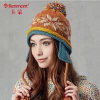 韩版针织帽子 女款时尚护耳帽 韩国1633