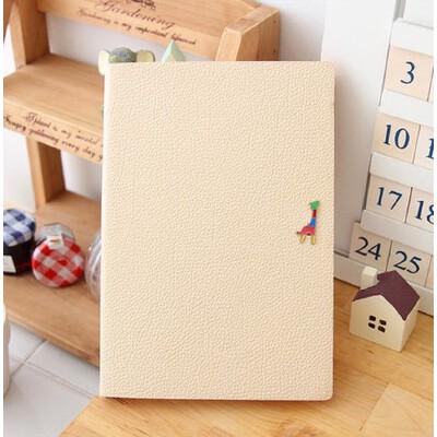【韩版本册/便签】笔记本 长颈鹿可爱记事本 皮面彩页