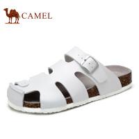 camel骆驼男鞋 夏季新款男士凉鞋透气拖鞋日常休闲沙滩鞋