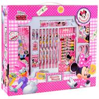 【当当自营】迪士尼(Disney)DM0015-5B书包文具套装/书包礼盒套装/小学生学习用品28件套大礼包粉红