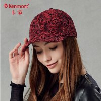 kenmont帽子 女士鸭舌帽棒球帽 个性帽子时尚潮女帽2276