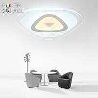东联led客厅吸顶灯后现代简约创意大气灯饰温馨卧室灯超薄餐饭厅灯具x18