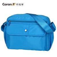 卡拉扬卡拉羊新款单肩包 炫彩五色休闲随身包 斜挎包男女韩版潮包 CX4616