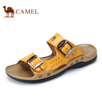 camel骆驼男鞋 2016夏季新款 时尚百搭超纤清凉舒适凉拖鞋男