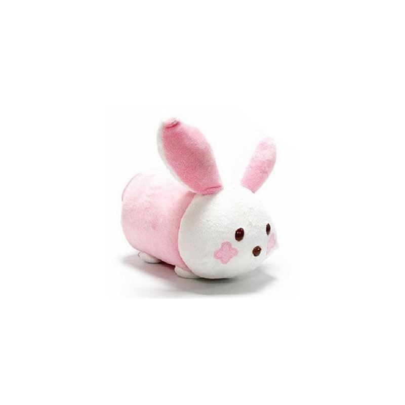 自由城 可爱清新毛绒卡通 纸巾抽 兔子 纸巾套 桌面收纳 jja73