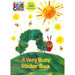 A Very Busy Sticker Book Eric Carle贴纸书 9780307930217
