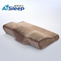 Aisleep睡眠博士颈椎记忆枕头 蝶形慢回弹记忆棉枕芯 颈椎枕 护颈枕 成人枕60*35*6/11