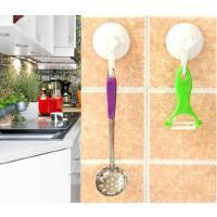 懿聚堂 9356创意厨房强力吸盘挂钩 卫生间墙上塑料无痕壁挂
