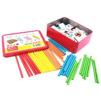 麦宝创玩 数数棒磁性贴数学教具算数棒儿童学习数学算术教具 启蒙益智玩具