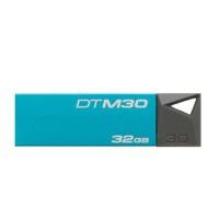 金士顿 DTM30 16G 32G 64G 128G  USB3.0超 轻薄防水金属u盘