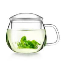 HEISOU 制耐热玻璃杯 创意泡茶杯 三件式功夫茶具套装CF-80
