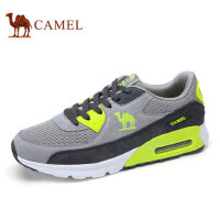 camel骆驼户外鞋 新品 情侣款气垫运动网布户外跑步鞋潮流板鞋