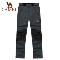 CAMEL骆驼 户外运动休闲 秋冬新品 男款冲锋裤 2F01015