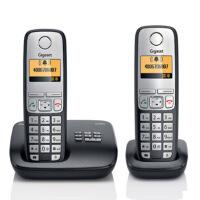 Gigaset 集怡嘉【西门子】C510A套机德国制造无绳电话机带答录通话录音 1拖1