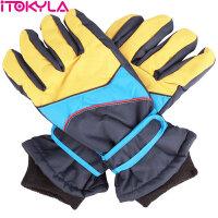 ITOKYLA 享i 雪舞霜飞系列 男女通用防水耐磨登山户外骑行保暖滑雪手套 系列三