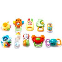 [当当自营]Auby 澳贝 摇铃系列 10只装摇铃 婴儿玩具 463134