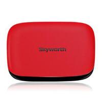 Skyworth/创维 A11四核 网络电视机顶盒子安卓高清无线硬盘播放器 红色