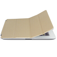 ikodoo爱酷多 苹果平板电脑ipad2/3/4smart cover保护套 智能休眠皮套 ipad2保护套 ipad3保护套 ipad4保护套 ipad保护套 ipad2皮套 ipad3皮套 ipad4皮套 ipad皮套 金色 单前盖