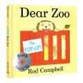 The Pop-up Dear Zoo   最新版《亲爱的动物园》 大奖童书-玩具卡板翻翻书(附CD)ISBN 9781447259152