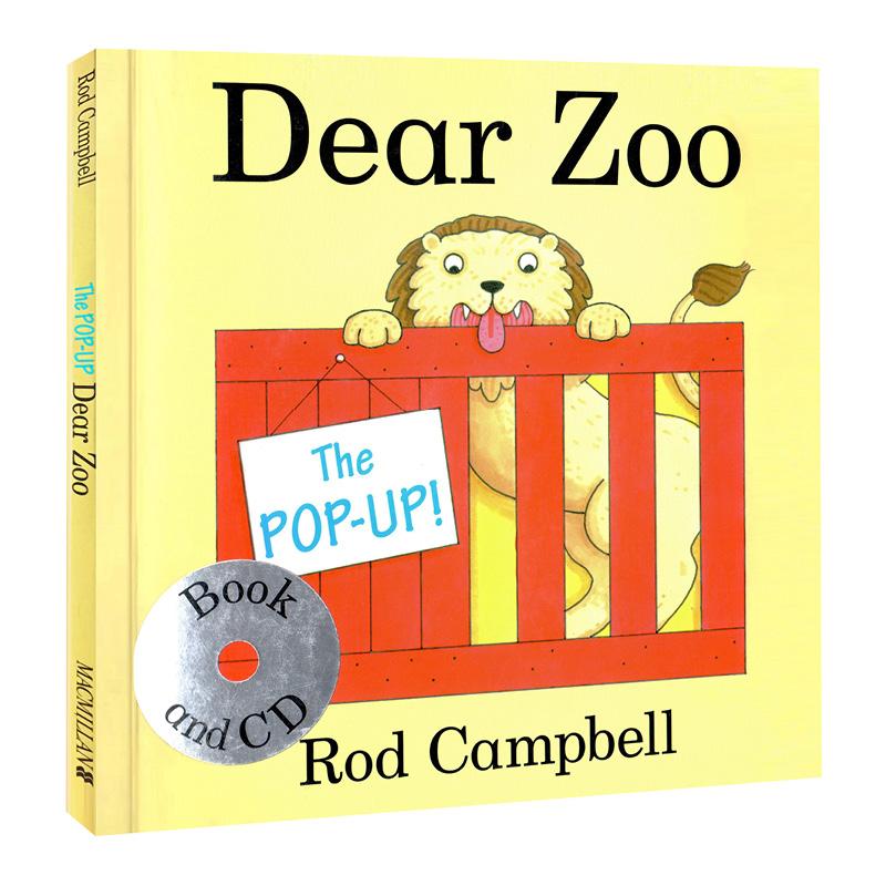 Pop Up Zoos : 《the pop up dear zoo book cd 翻翻书 quot 亲爱的动物园 (卡板附cd