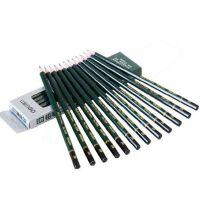 得力铅笔2B HB 2H木质学生考试绘图 儿童铅笔 12支/盒