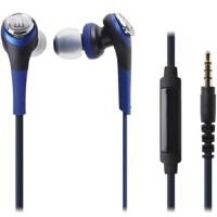 铁三角(Audio-technica)CKS550IS ATH-CKS550IS 重低音 手机通话入耳式耳机 蓝色/黑色/红色/白色/金色