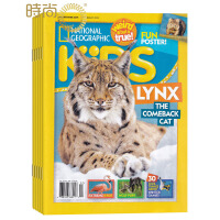 National Geographic Kids NG美国国家地理儿童版 2017年全年杂志订阅新刊预订1年共10期