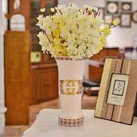 墨菲 欧式花瓶陶瓷摆件 创意复古家居客厅桌面装饰品现代简约花器
