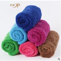 二代珊瑚绒双层抹布 吸水不掉毛百洁布洗碗巾 平板拖把替换布