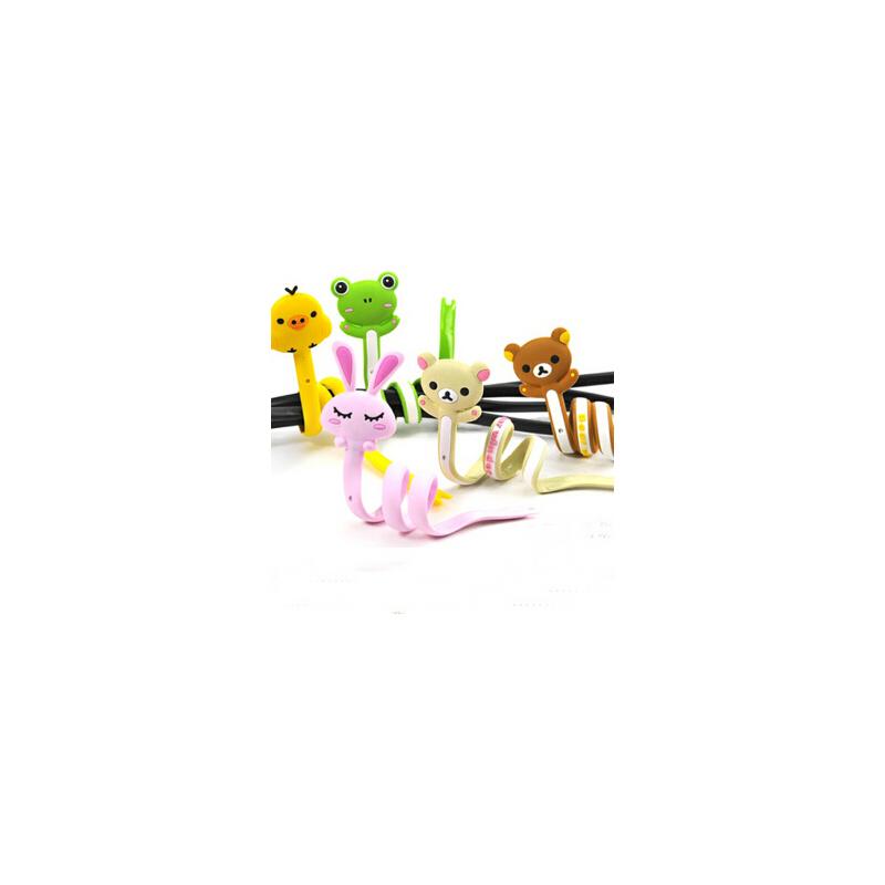 【吉满桌面文具】吉满 q版可爱动物轻松熊系列长条绕