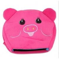 暖手鼠标垫 保暖鼠标垫 可爱加热发热 USB暖手鼠标垫 小红猪
