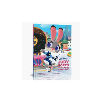 《英文原版疯狂动物城茱迪普斯与丢失的珍宝精装故事