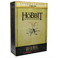 正版霍比特人123三部曲高清全集电影加长版6碟片五军之战DVD光盘
