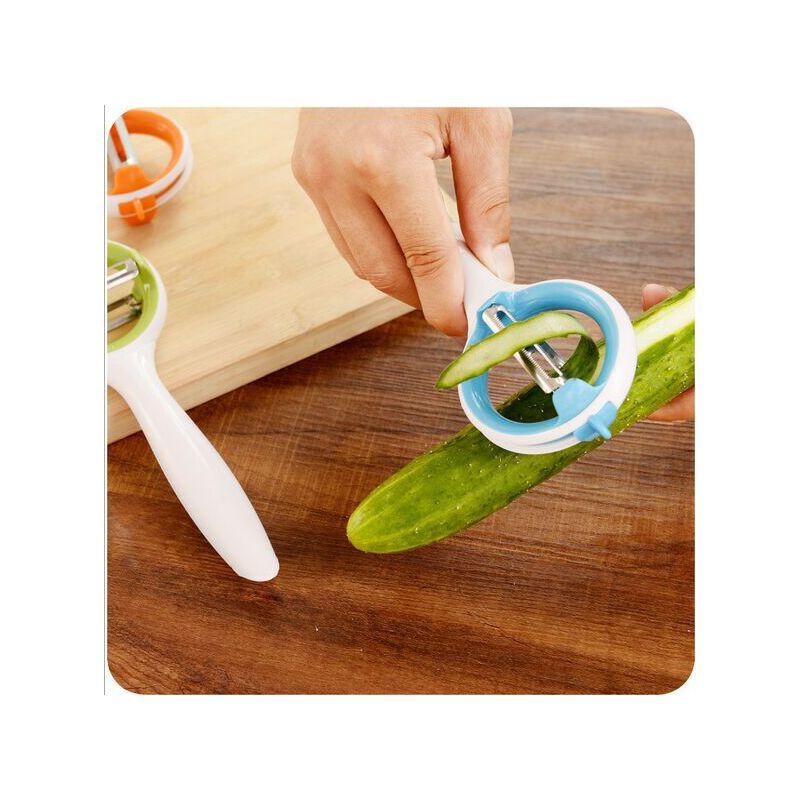 【爱家创意厨房用品】刨丝器欧式可旋转刀口水果削皮