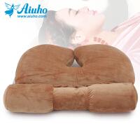 【包邮】颈椎专用枕头护颈枕单人圆形糖果枕午睡保健脊椎成人荞麦壳枕芯