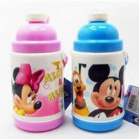迪士尼儿童弹跳水杯 米奇 RB-M8003 保温水壶 400ml 吸管杯粉