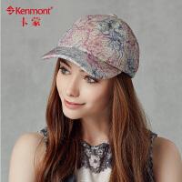 kenmont卡蒙 帽子 女士棒球帽 鸭舌帽女韩版潮帽2397