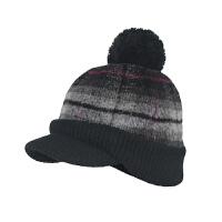 kenmont卡蒙 帽子 格子毛昵针织帽 冬天帽子 男女通用2226