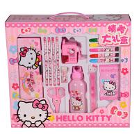 【当当自营】Hello Kitty 凯蒂猫 益智玩具 开学礼盒组 书包文具套装大礼盒 F-HK0083