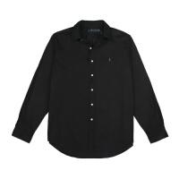 polo Ralph Lauren男装 拉夫劳伦纯色商务长袖衬衫百搭衬衣男