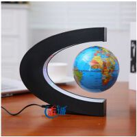 地球仪磁悬浮地球仪C型10.6MM办公室桌面摆件装饰摆设