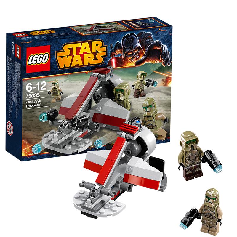 [当当自营]LEGO 乐高 星球大战系列 战斗套装系列 - 卡西克骑兵 积木拼插儿童益智玩具 75035【当当自营】适合6-12岁,99pcs 乐高积木 拼装玩具