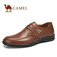 CAMEL骆驼男皮鞋新款正装皮鞋 简约时尚商务休闲皮鞋