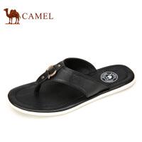 camel骆驼男鞋 2016夏季新款 日常休闲清凉舒适夹趾拖鞋男